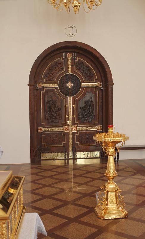 Двери межкомнатные из массива - Ивна МФ