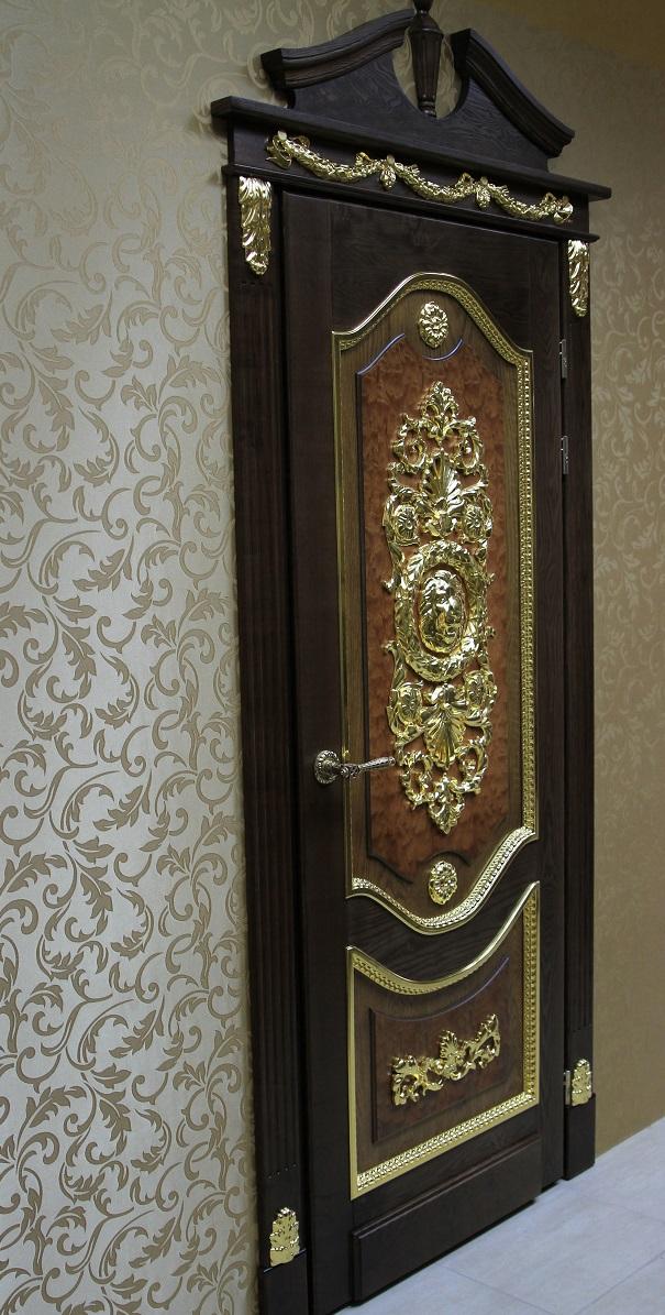 Межкомнатные двери Калинка из 100% массива дерева ясеня