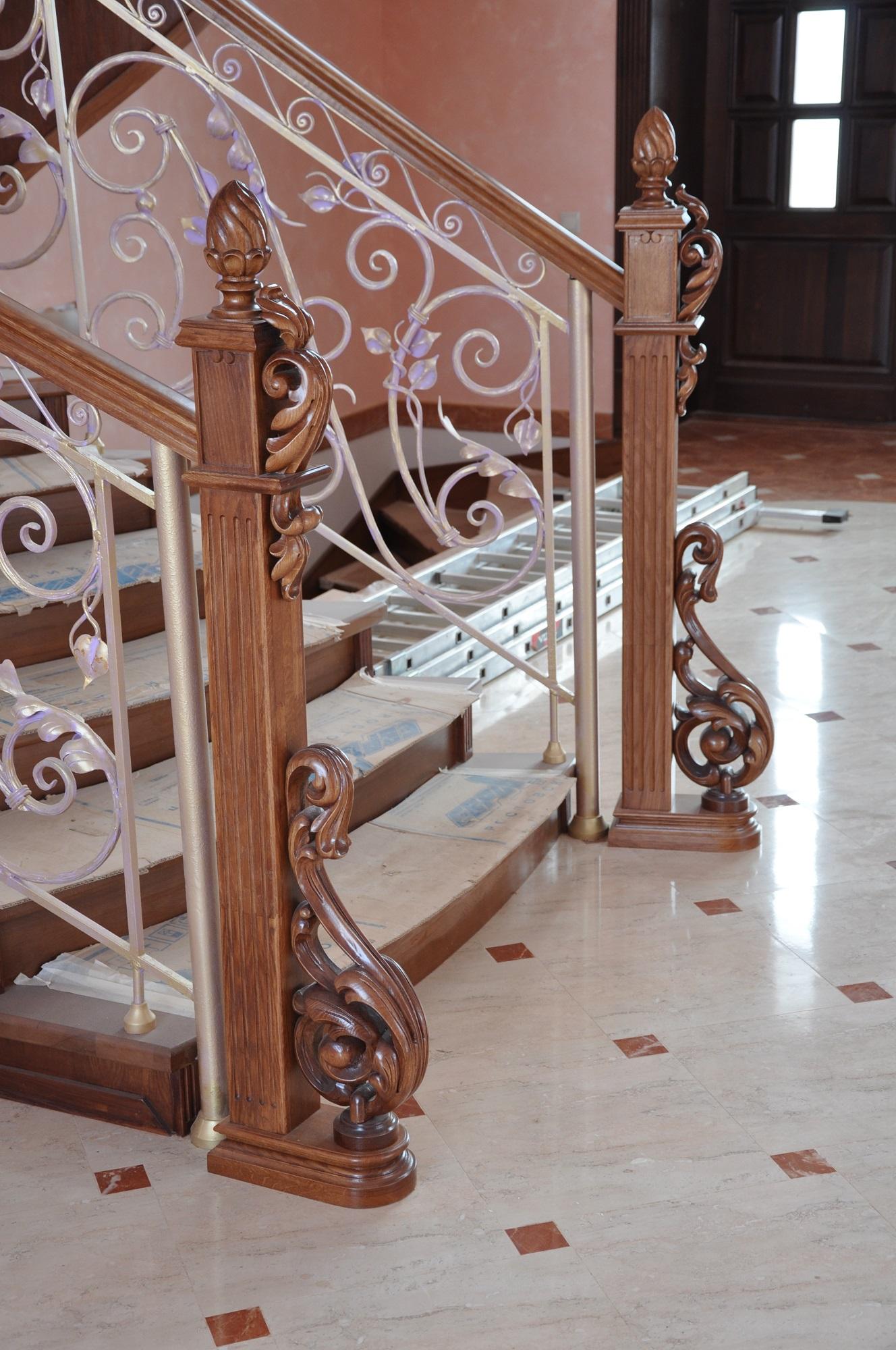 Балясины для лестниц из дерева от LIGNEUS в Казани