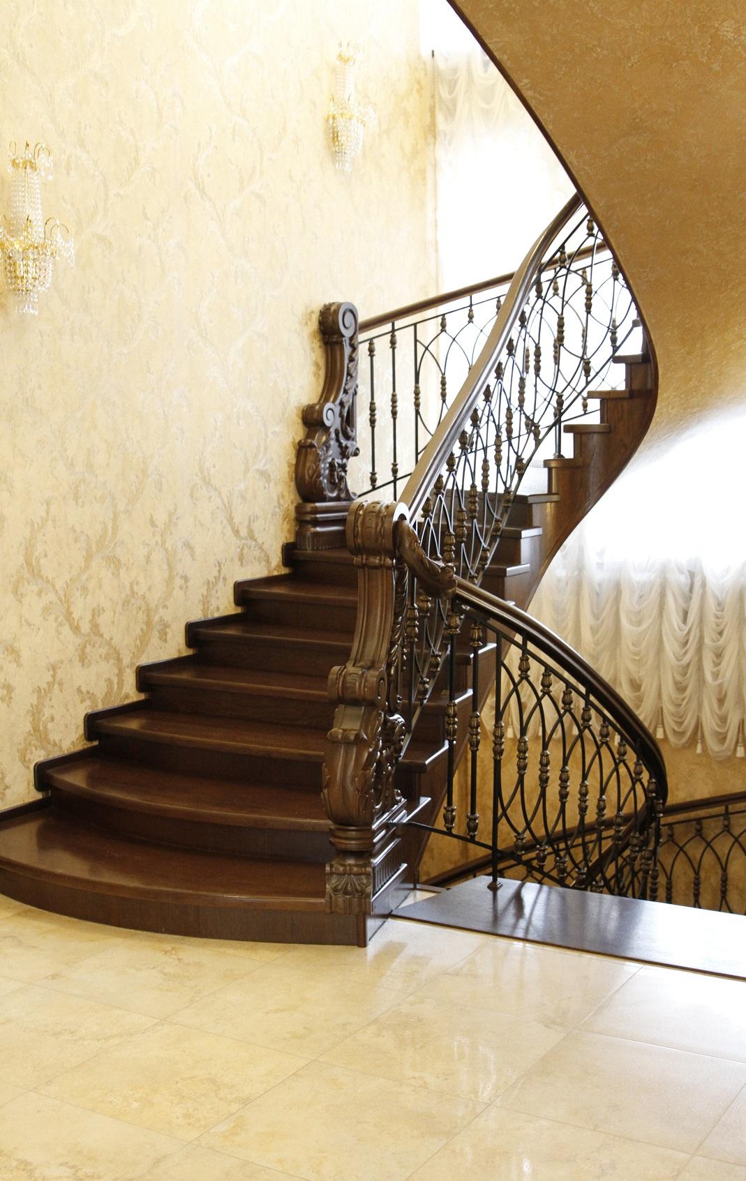 Элементы деревянных лестниц - Купить пиломатериалы в